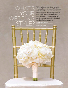 Press What's Your Wedding Style Page 1