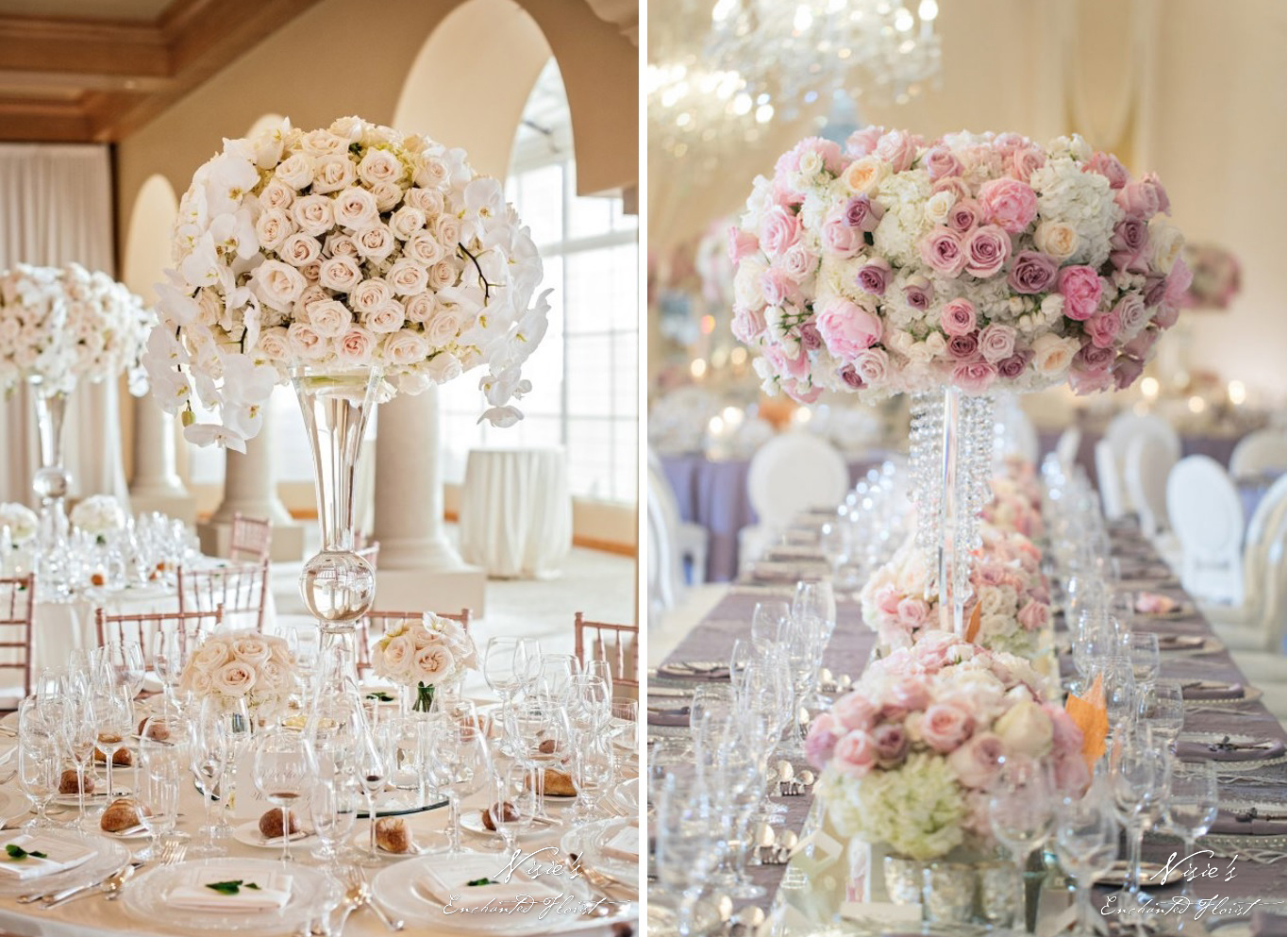 Our Centerpieces Featured on Belle the Magazine | Nisie\'s Enchanted ...